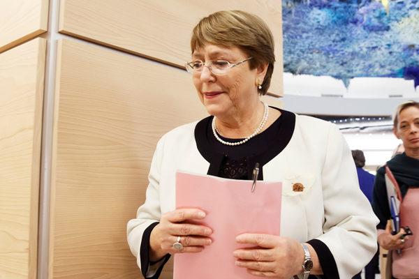 Bachelet: crisis económica y social «sigue deteriorándose rápidamente»