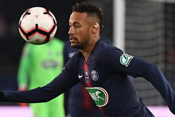 Neymar y Di María, titulares en el PSG tras superar el coronavirus