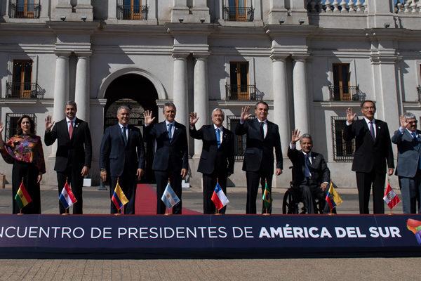 Sudamérica lanza Prosur, nuevo bloque regional que excluye a Venezuela