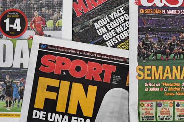 Real Madrid deja de ingresar €45 millones de ingresos fijos por eliminación