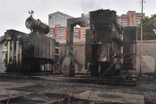 «Película de terror» por explosión de estación eléctrica en Baruta