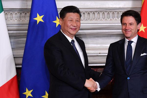 Italia y China firman un principio de acuerdo sobre la nueva Ruta de la Seda