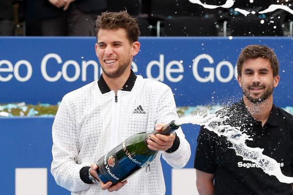 Thiem vence a Medvedev y se proclama campeón del Torneo de Barcelona