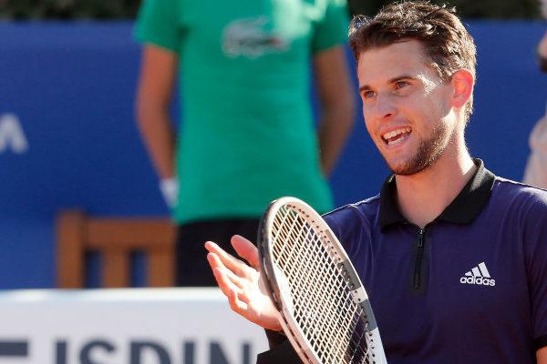 El austríaco Thiem vence a Nadal en semifinales del Torneo de Barcelona