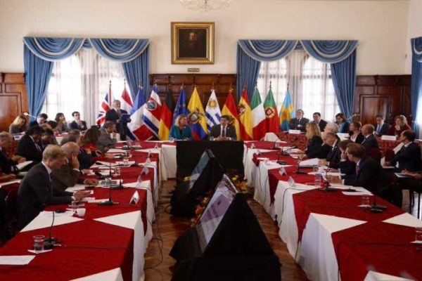 Ministros de la UE evaluarán avances de grupo de contacto sobre Venezuela