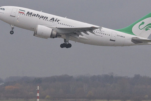Aerolínea iraní lanza el primer vuelo directo entre Teherán y Caracas