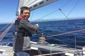 Un japonés es el primer ciego en cruzar el Pacífico a vela
