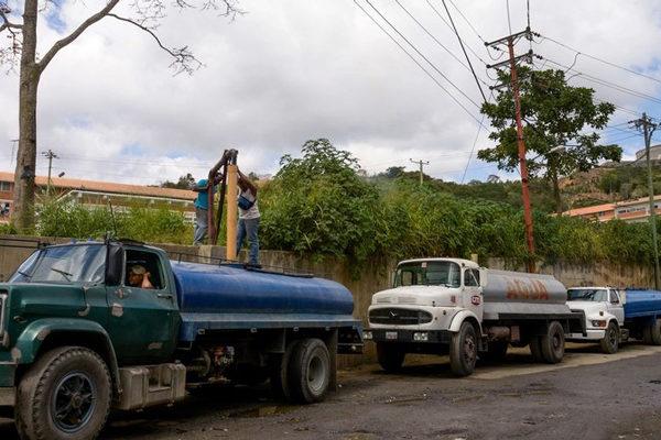 El vehículo más buscado en Venezuela es... la cisterna