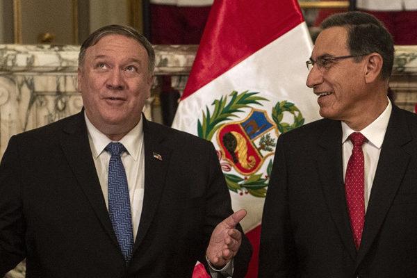 Pompeo cierra visita a Perú, que siente de primera mano la crisis venezolana
