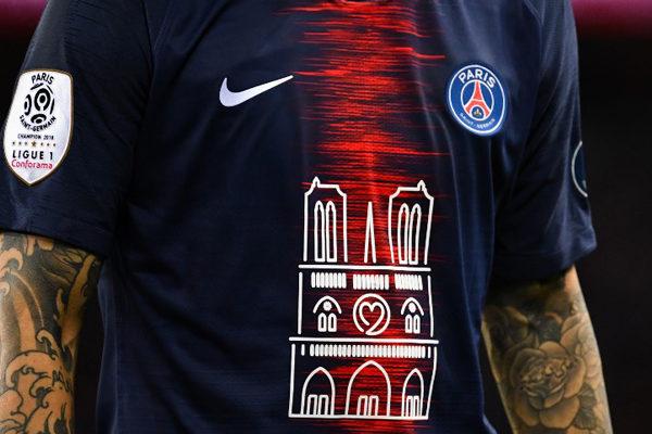 PSG vende 1.000 camisetas conmemorativas de Notre Dame en menos de media hora