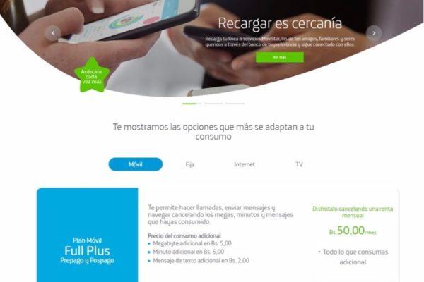 Movistar rediseña sitio web en Venezuela por alineación regional de marca