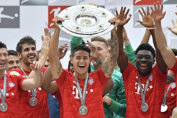 Bayern logra en la última jornada su séptima Bundesliga consecutiva