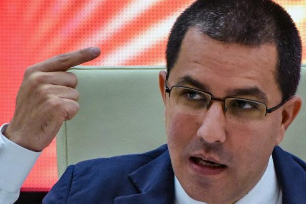 Jorge Arreaza le pide a EEUU cesar la 'agresión' contra Venezuela