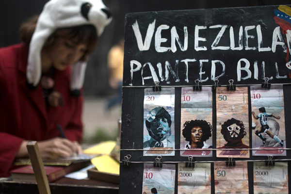 El Che, Escobar y Frida se unen para «revaluar» la moneda venezolana