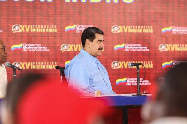 Maduro en campaña: