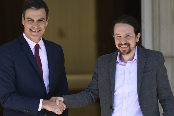 Podemos confía en un acuerdo de poder con Sánchez en España