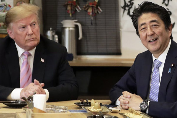 Trump: Japón y EEUU han hecho un gran progreso hacia acuerdo comercial