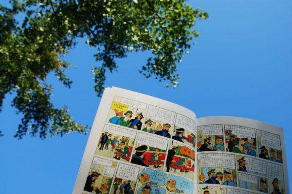 Subastan original de primera portada de Tintin en 1.125.000 dólares