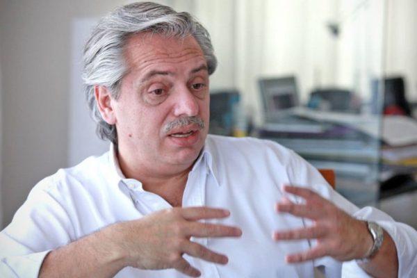 Alberto Fernández, el