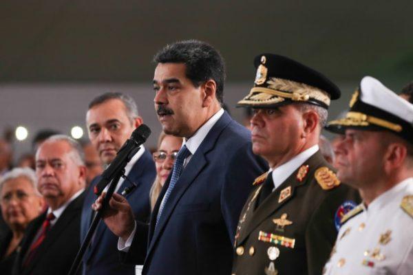 Maduro: EE.UU y Colombia se empeñan a debilitar las Fuerzas Armadas de Venezuela