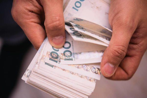 Suecia podría dejar de usar dinero en efectivo antes del 2023