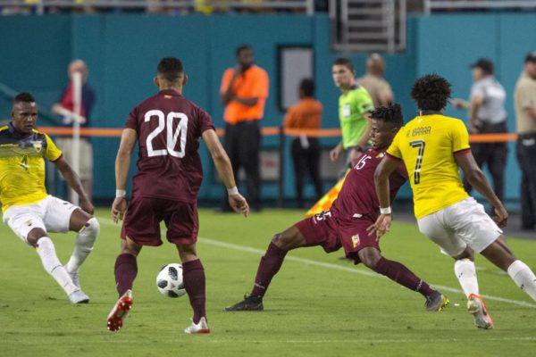 Venezuela iguala 1-1 con Ecuador en duelo de fogueo previo a Copa América 2019