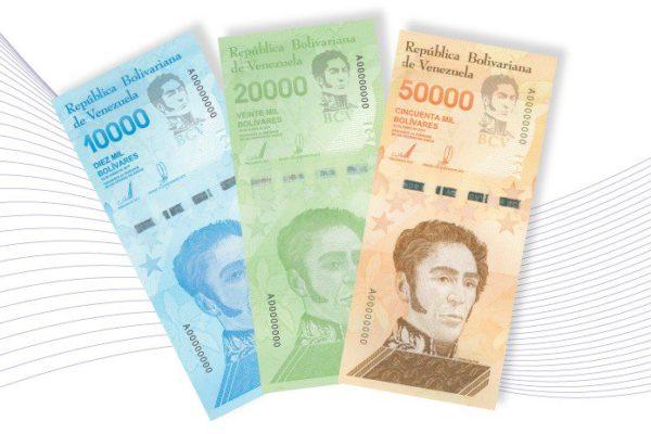 BCV reduce al mínimo emisión de billetes que representan solo 4,95% de la liquidez