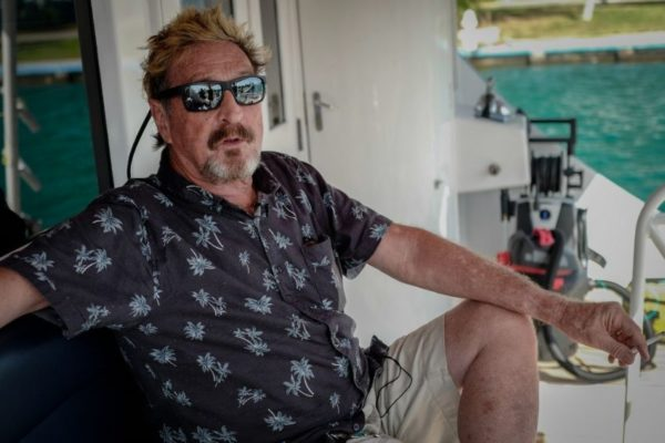 John McAfee, un excéntrico millonario refugiado en Cuba busca la presidencia de EEUU