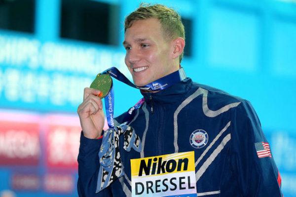 Estados Unidos domina el medallero de las pruebas de natación en piscina