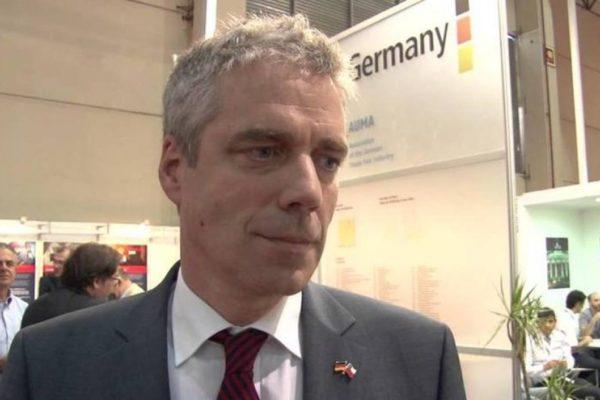 Embajador alemán regresó a Caracas