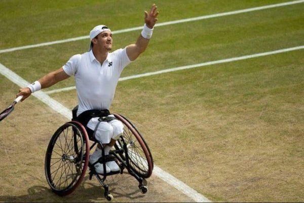 Gustavo Fernández gana en Wimbledon su tercer Grand Slam en silla de ruedas