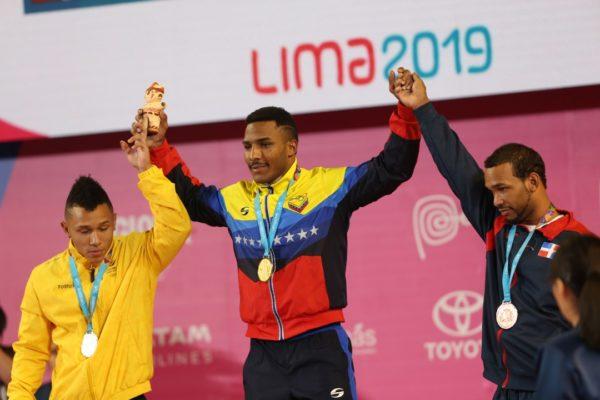 Mayora ganó medalla de oro para Venezuela en jornada de halterofilia en Lima-2019