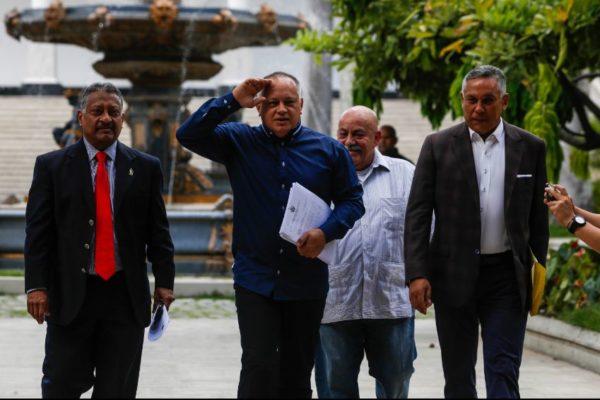 Cabello anuncia que «habrá justicia» sobre pago «ilegal» del bono Pdvsa 2020