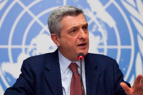 Jefe de Acnur se reunirá en Chile con migrantes venezolanos