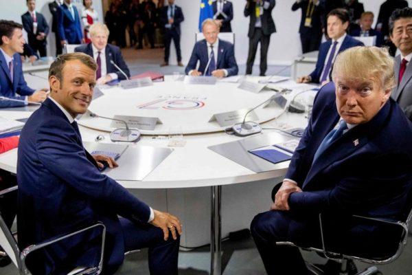 Los líderes del G7 abrieron reuniones con la seguridad y el comercio en el menú