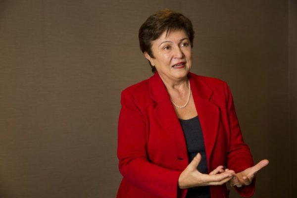 Kritalina Georgieva asume el FMI con la meta de minimizar riesgos de recesión global