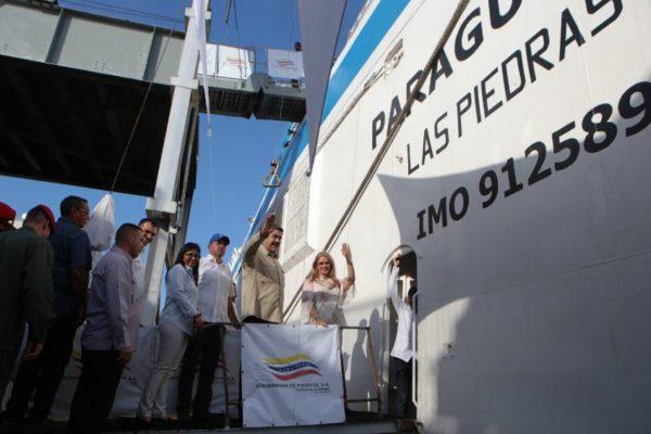 Activan Ferry Paraguaná I para cubrir ruta La Guaira-Margarita
