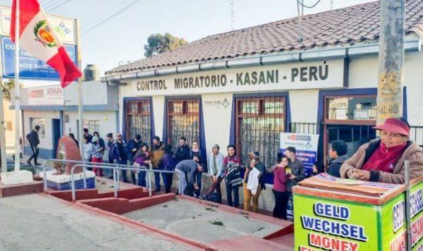 Salida de venezolanos se incrementa en más de 130% por frontera de Perú con Bolivia