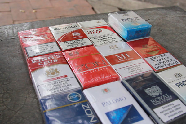 Pérdida fiscal por contrabando de cigarrillos equivale a 24.140 millones de salarios mínimos