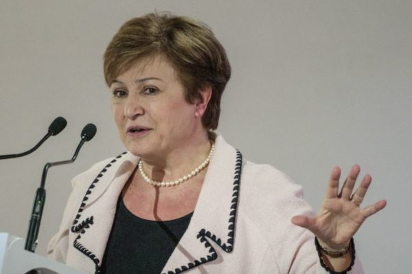 Jefa del FMI reiteró «firme compromiso» a Argentina en reunión con ministro
