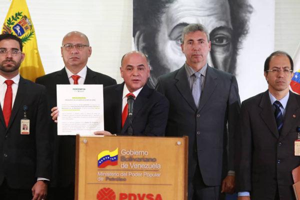 Quevedo denuncia despidos de 130 trabajadores y «desmantelamiento» de Monómeros Colombo-Venezolanos