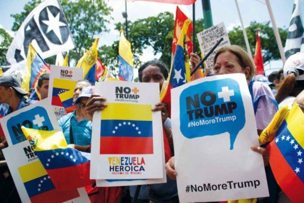 Rodríguez entregó en la ONU certificación de 13 millones de firmas «No More Trump»