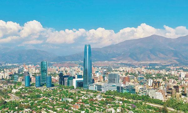 Santiago de Chile está marcado de protestas