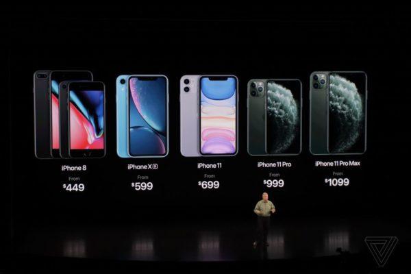 El nuevo iPhone 11 Pro de Apple tiene tres lentes traseras y modo noche