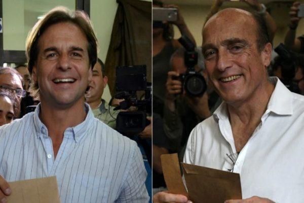 Uruguay definirá presidente en segunda vuelta entre Martínez y Lacalle