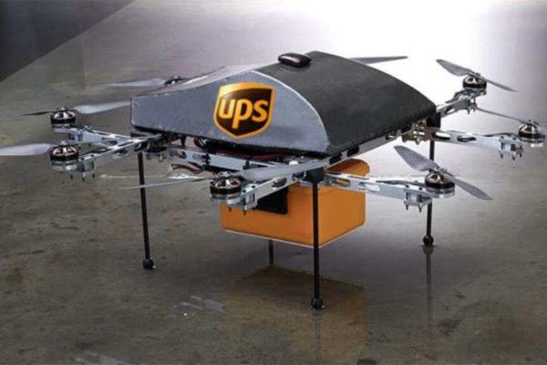 UPS operará la primera flota de drones de mensajería en EEUU
