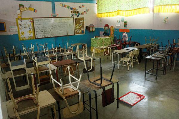 ONU pide reabrir las escuelas en cuanto sea posible y advierte de una