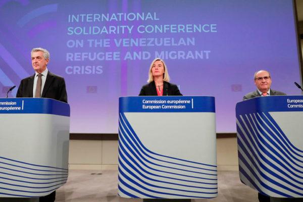 UE y ONU llamaron a actuar ya ante crisis de migrantes venezolanos