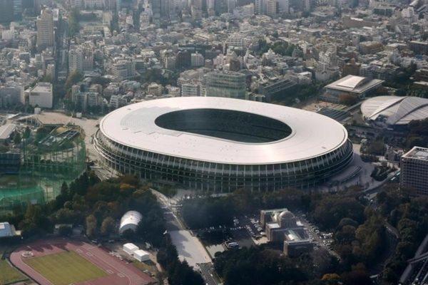 Estadio Olímpico de Tokio está listo para Juegos 2020