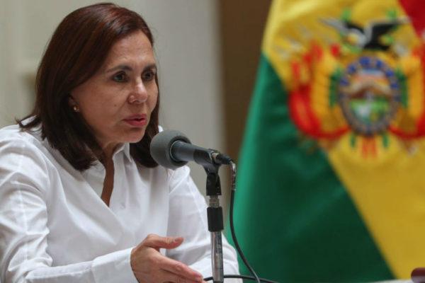 Canciller boliviana: no podíamos ser indiferentes ante la injerencia de Venezuela